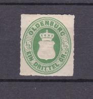 Oldenburg - 1862 - Michel Nr. 15 A - Gepr. - 250 Euro - Oldenburg