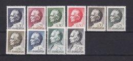 Yugoslavia - 1968 Year - Michel 1280/1289  - MNH - 1945-1992 République Fédérative Populaire De Yougoslavie