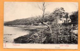 Portincaple  Loch Long UK 1908 Postcard - Argyllshire