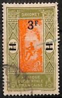 NB - [827725]TB//O/Used-c:12e-Dahomey 1926-27 - N° 82, 3F S. 5F Palmier, Colonies - Oblitérés