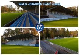 AK Wald-Stadion Postkarte FC Hard Fußball Stadium Vorarlberg Football Österreich Austria Stade Stadium Stadio Ground - Fussball