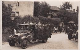 PHOTO  VOITURE ANCIENNE DECOREE - Automobiles