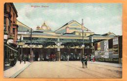 Brighton Station UK 1908 Postcard - Brighton