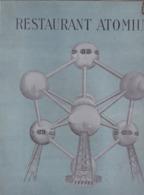 Restaurant Atomium - Menus