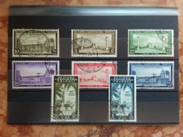 COLONIE ITALIANE - LIBIA 1938 - 12° Fiera Di Tripoli - PO+PA Timbrati + Spese Postali - Libia