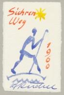Wenskaart 1960 Heinrich Küchel - Heinrich Küchel (handgetekend) - Sin Clasificación