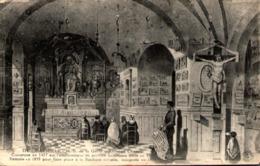 13 - MARSEILLE - Notre-Dame De La Garde - Ancienne Chapelle - Notre-Dame De La Garde, Aufzug Und Marienfigur