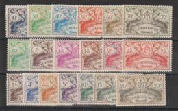 Guadeloupe 1945 Série Londres 178 à 196 19 Val ** MNH - Ungebraucht