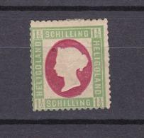 Helgoland - 1873 - Michel Nr. 10 - 70 Euro - Helgoland