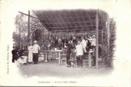 Indochina, SAIGON, Le Tir à L'Are, Archery, Bow And Arrows (1899) Postcard - Viêt-Nam