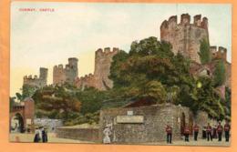 Conwy UK 1908 Postcard - Caernarvonshire
