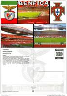 1) AK Stadion Postkarte Estadio Da Luz SL Benfica Lissabon Lisboa Lisbon Portugal Futebol Stadio Football Stadium Stade - Fussball