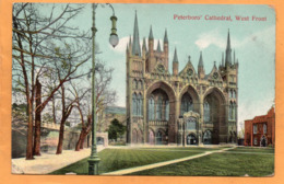Peterborough Peterboro UK 1908 Postcard Mailed - England