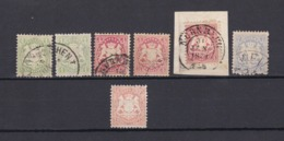 Bayern - 1870 - Michel Nr. 22/23, 25, 27 - 40 Euro - Bayern