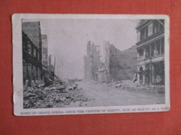 Home Of Grand Opera Once The  Center Of Gaiety   Crease  To ID  San Francisco ????   > Ref 3623 - Postcards
