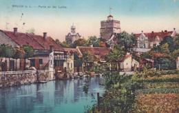 Bruck An Der Leitha  -  Leitha + Schloss Prugg - Bruck An Der Leitha