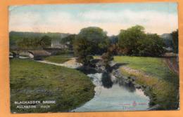 Allanton UK 1909 Mailed - Berwickshire