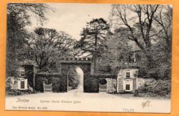 Irvine UK 1911 Mailed - Ayrshire