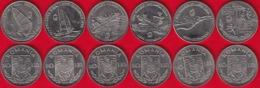 "Romania Set Of 6 Coins: 10 Lei 1996 ""Summer Olympics, Atlanta"" UNC - Romania"