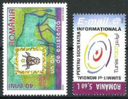Rumanía Nº 5025/6 En Nuevo - 1948-.... Repubbliche