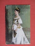 Wilhelmina Queen Of The Netherlands  Ref 3623 - Royal Families