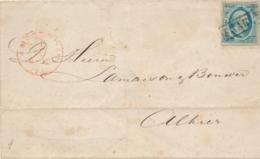 Nederland - 1863 - 5 Cent Willem III, 1e Emissie Op Omslag Lokaal Amsterdam - Periode 1852-1890 (Willem III)