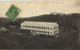 Indochina, TONKIN DAP-CAU, Caserne De L'Artillerie Coloniale (1907) Postcard - Viêt-Nam