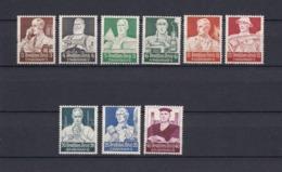 Deutsches Reich - 1934  - Michel Nr. 556/564 - Ungebr. - 100 Euro - Deutschland