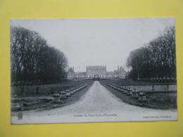 SAINT AUBIN D'ECROSVILLE. Le Château. - Saint-Aubin-d'Ecrosville
