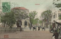 Indochina, TONKIN, Phu-Lang-Thuong, La Grande Rue, Rickshaw (1910s) Postcard - Viêt-Nam