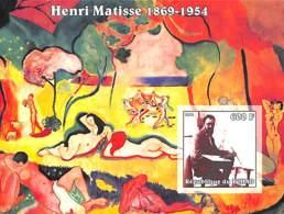 NB - [38003]SUP//ND/Imperf-Tchad 2002 - ND/Imperf - Célébrité, Peintre - Henri Matisse. - Tschad (1960-...)
