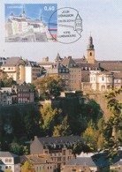 D38004 CARTE MAXIMUM CARD TRIPLE 2014 LUXEMBOURG - PANORAMA LUXEMBOURG CITY CP ORIGINAL - Otros