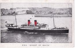 MALTE(BATEAU) KNIGHT OF MALTA - Malte
