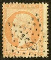 France Sc# 27 Used 1862-1871 40c Emperor Napoleon III - 1862 Napoleon III