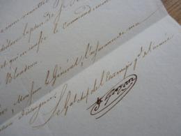 1813. ETAT De Siège à SAINT JEAN PIED DE PORT Par Le GENERAL D'Empire GAZAN. BAYONNE. Napoléon. AUTOGRAPHE - Autographes