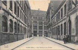 PARIS - XIX Rue Tandou Et Les Ecoles - Arrondissement: 19