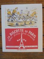 BUVARD - SPORT - 110 HAIES - BISCOTTES DE PARIS - Vloeipapier