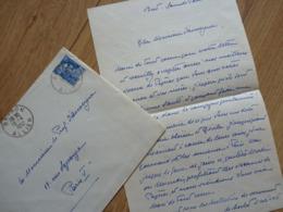 Prince Xavier 1er De BOURBON PARME (1889-1977) Trône CARLISTE Espagne SPANA. AUTOGRAPHE - Autógrafos