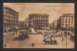 15166 Napoli - Piazza E Monumento A Garibaldi F - Napoli