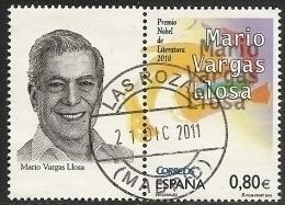 2011-ED. 4672 -PERSONAJES.MARIO VARGAS LLOSA.ESCRITOR Y PREMIO NÓBEL-USADO - 1931-Today: 2nd Rep - ... Juan Carlos I