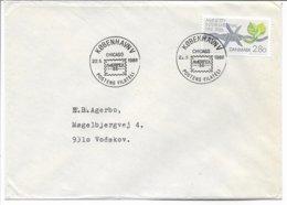 Ameripex Chicago. Postmark: Copenhagen 1986   H-1640 - Philatelic Exhibitions