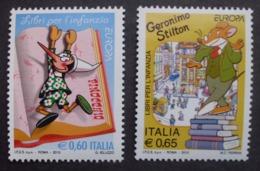 Italien     Kinderbücher  Cept    Europa  2010  ** - Europa-CEPT