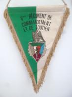 FANION 8° RCS REGIMENT DE COMMANDEMENT ET DE SOUTIEN - Fabricant BEAUREGARD - Drapeaux
