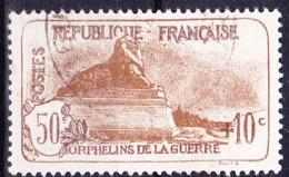 Frankreich France - Kriegswaisen (MiNr: 212)  1927 - Gest Used Obl - France