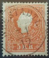 AUSTRIA 1858 - Canceled - ANK 13II - 5K - Oblitérés