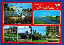 Xx01xx ★ Gruß Aus Magdeburg - Mehrbildkarte - Magdeburg
