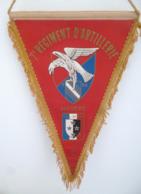 FANION  7° RA REGIMENT D' ARTILLERIE NEVERS - LR PARIS - Flags