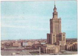 Warszawa - Palac Kultury I Nauki - (Poland) - Polen