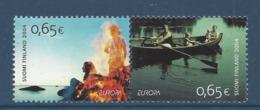Finlande - Europa - Yt N° 1671 Et 1672 - Neuf Sans Charnière - 2004 - Finland