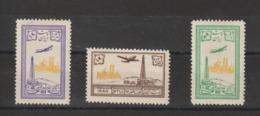 Iran 1953 Série PA 79-81 3 Val * Charn - Iran
